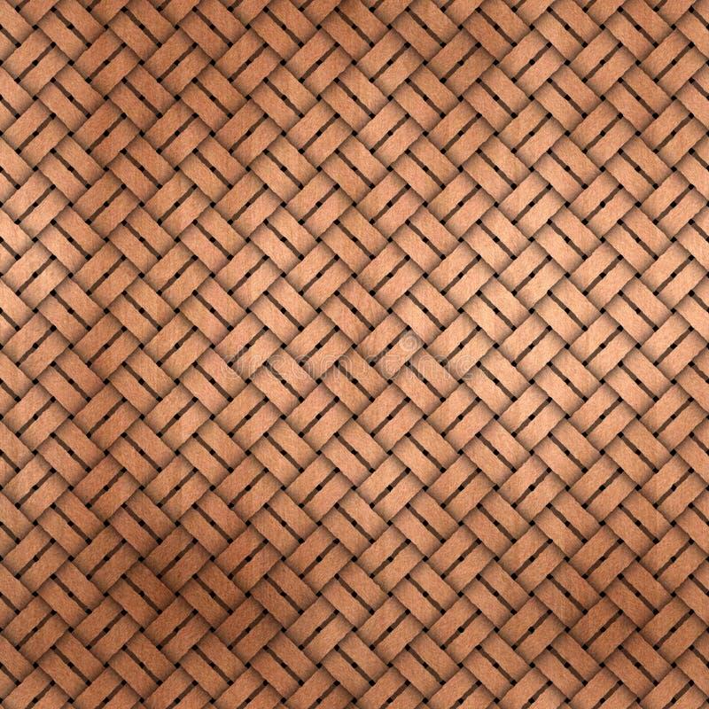 Weave de madeira ilustração do vetor