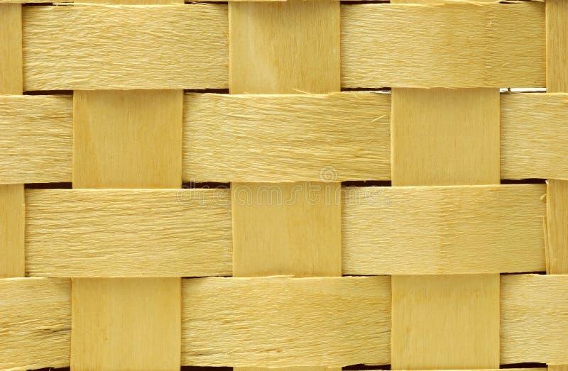 Weave de madeira imagens de stock royalty free