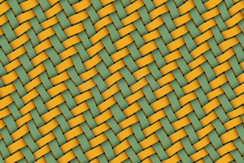 Weave de Twill ilustração do vetor