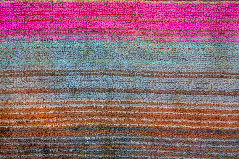 The weave of fabric closeup royalty free stock photo