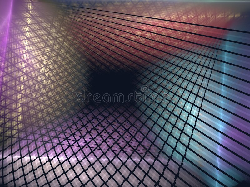 Download Weave and fold stock illustration. Image of digital, dimensional - 1271956