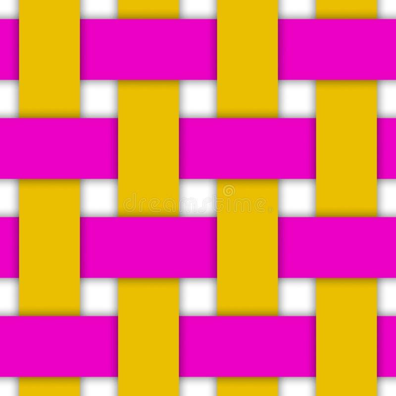 Weave Illustration. Illustration of large weave suitable for a background stock illustration