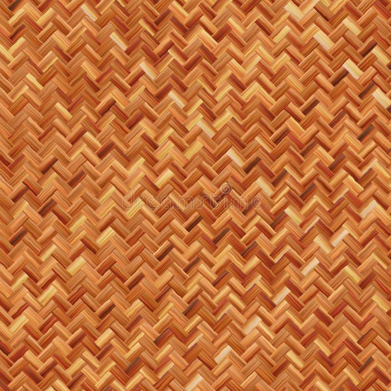 Weave marrom morno ilustração royalty free