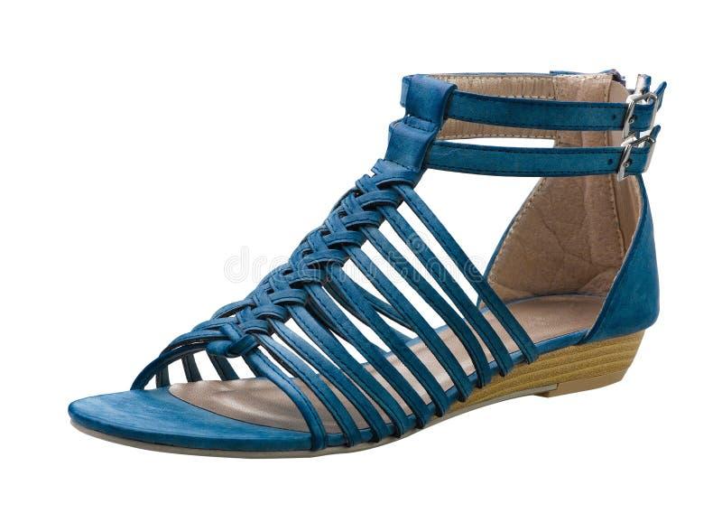 Weaved Sandal Shoe Stock Photo