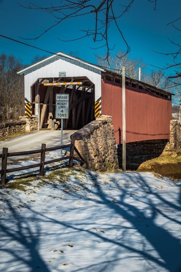 Weaver's młyn Zakrywający most fotografia royalty free