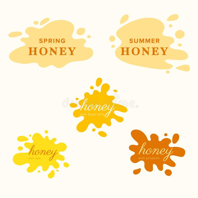 Honey Labels Stock Illustrations 934 Honey Labels Stock