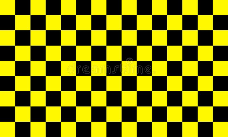 Background pattern, yellow squares alternating with black Modern technology concepts and fast and uncomplicated work patterns For. Text input or various vector illustration