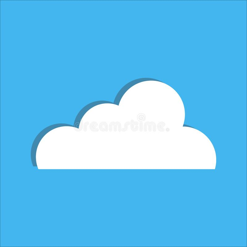 Cloud. Vector illustration vector illustration