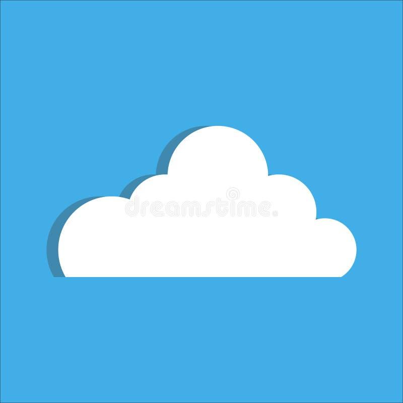 Cloud. Vector illustration stock illustration