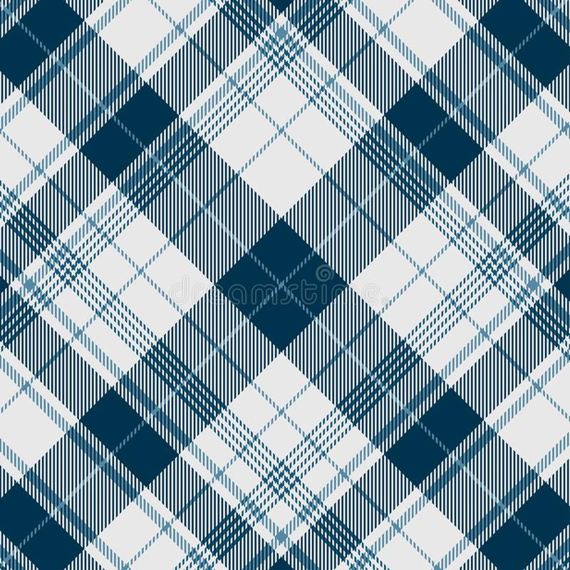 A seamless diagonal plaid - tile to desired pattern or size. royalty free illustration