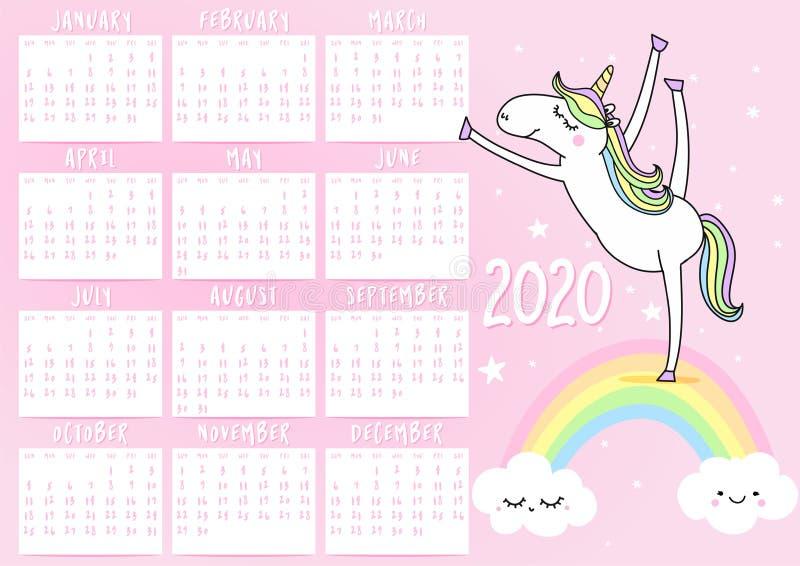 Year Calendar Girly Stock Illustrations – 55 Year Calendar Girly