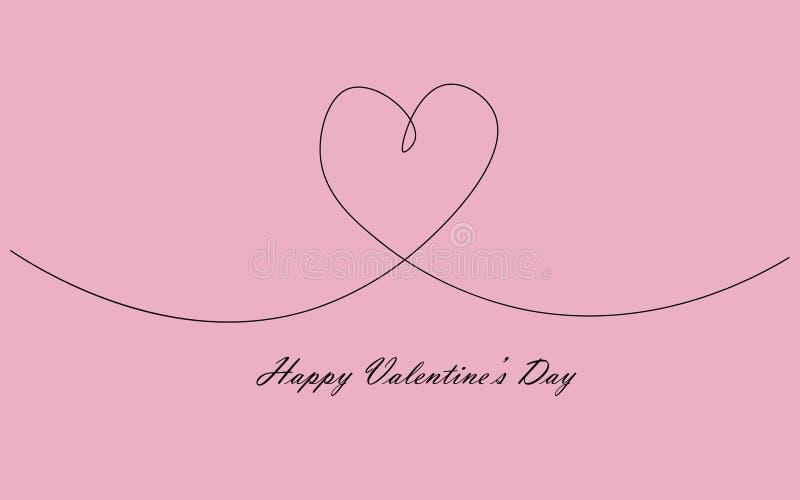 Valentine day banner vector. Illustration stock illustration