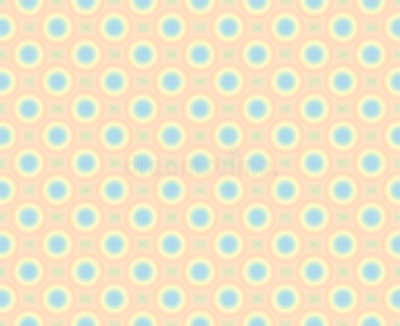 Colorful abstract circles seamless pattern background vector illustration