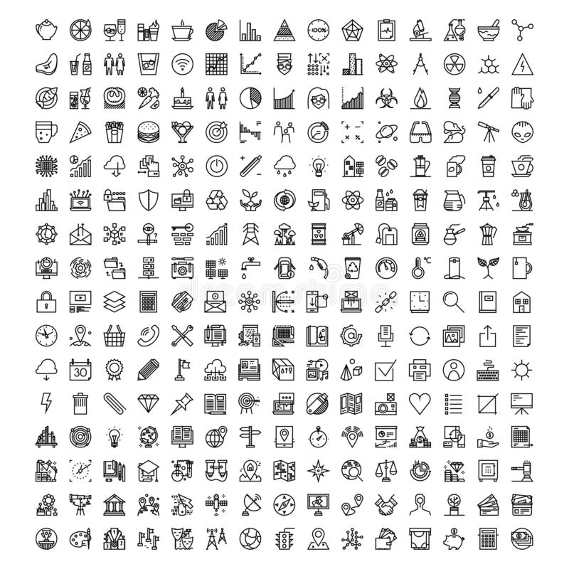 Set of universal icon logo vector illustration