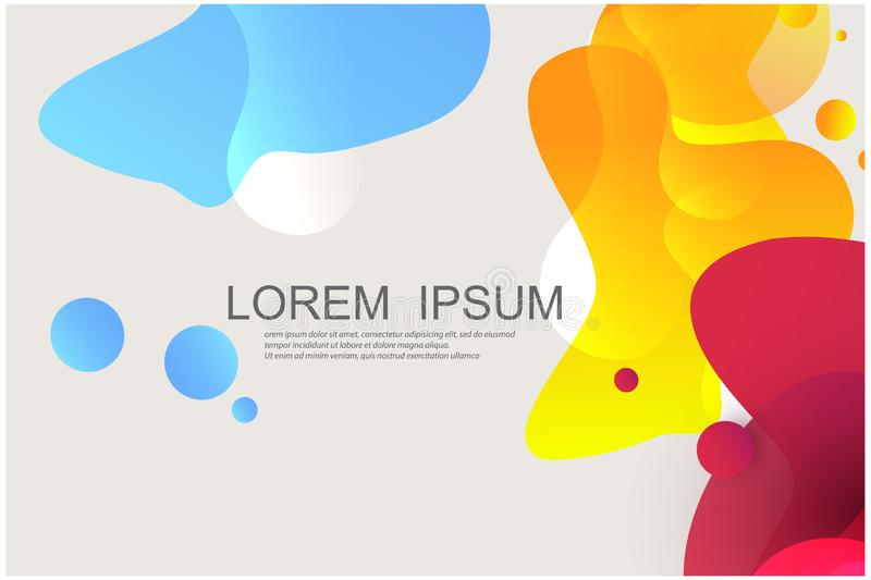 Abstract liquid background Vector Eps 10 royalty free illustration