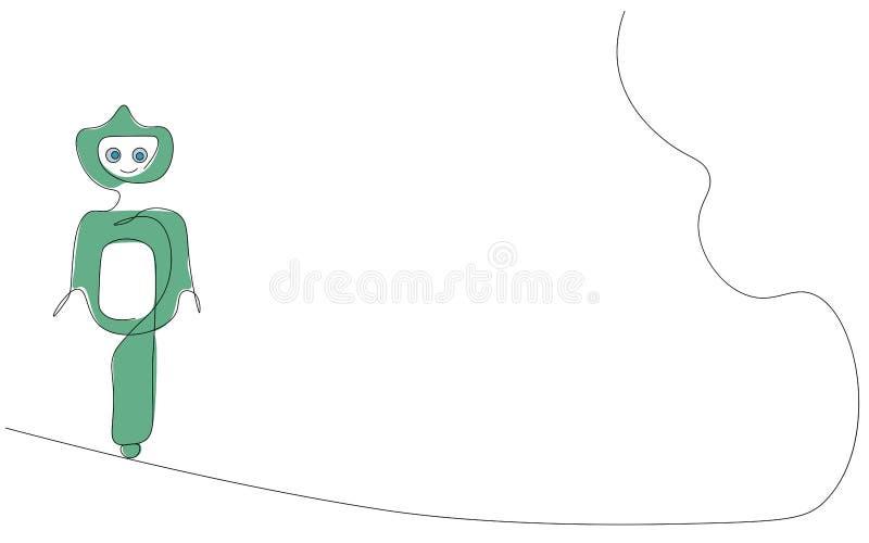 Robot, green eco friendly design, vector illustration vector illustration