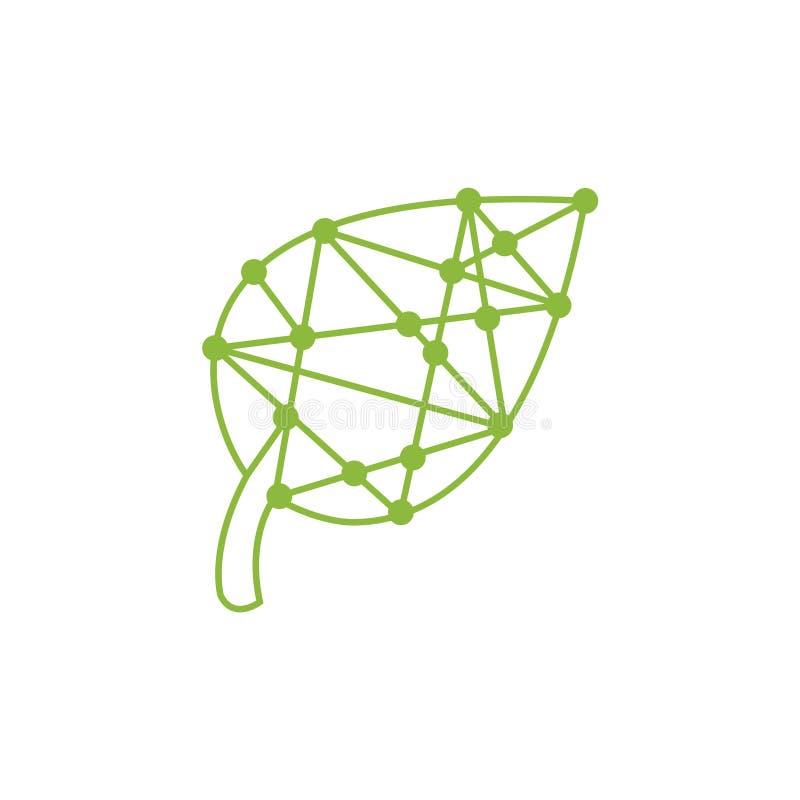 Green Technology logo designs concept, leaf technology logo design,. Nature Technology Logo. Creative Leaf Technology Logo Design Template. Leaf With Electronic vector illustration