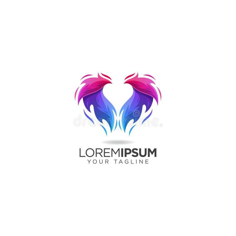 Eagle Business Logo Design. Stock Vector