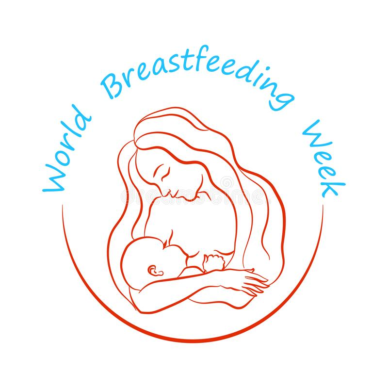 Breastfeeding Drawing Stock Illustrations 303 Breastfeeding