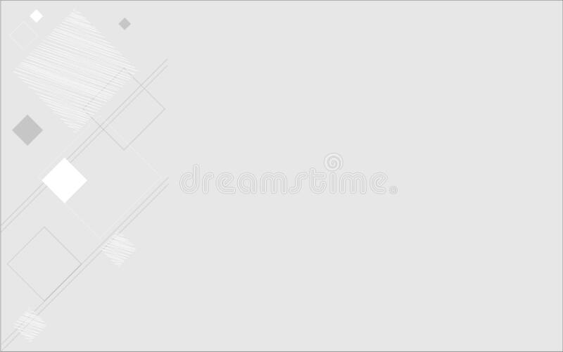 Background white and gray geometric lines royalty free stock image