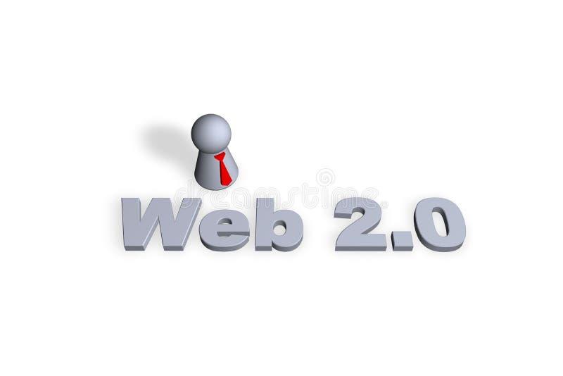 Web 2.0 royalty illustrazione gratis
