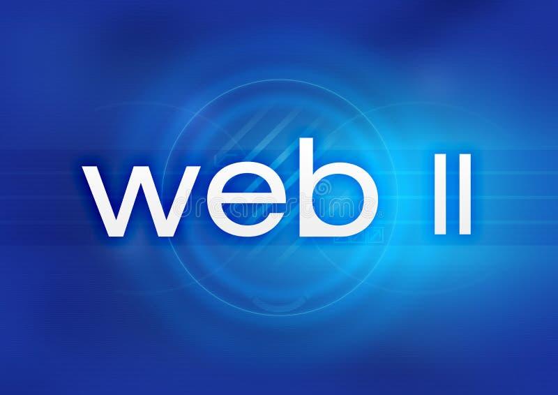 Web 2.0 illustration de vecteur
