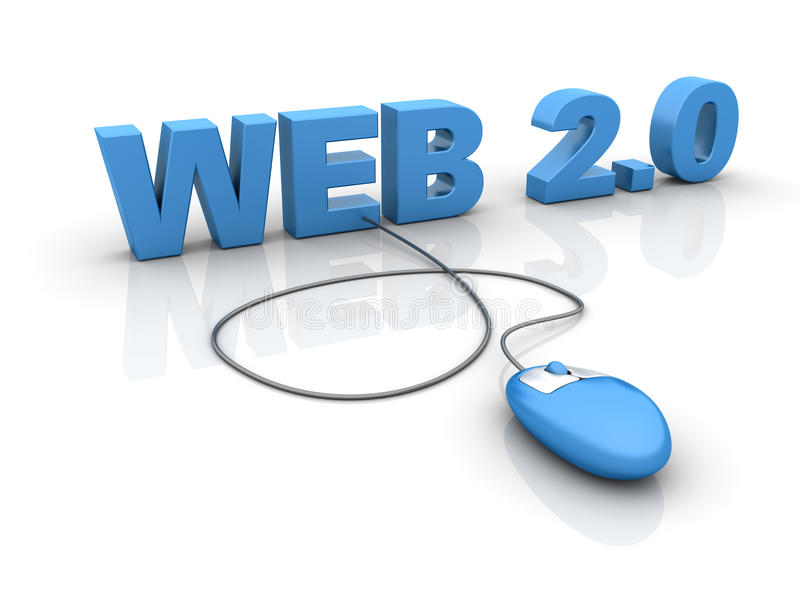 Web 2.0 stock abbildung