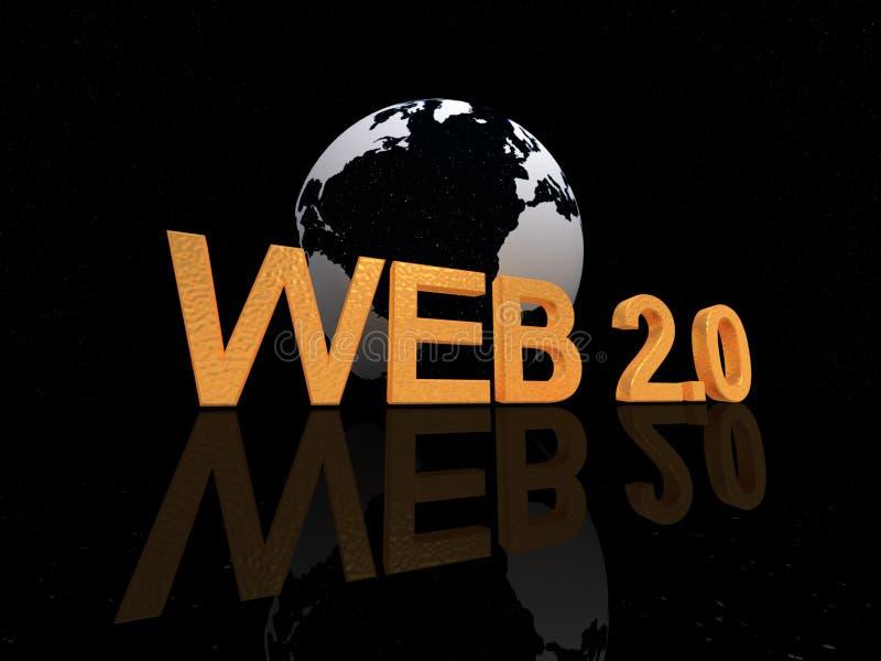 Web 2.0 vektor abbildung
