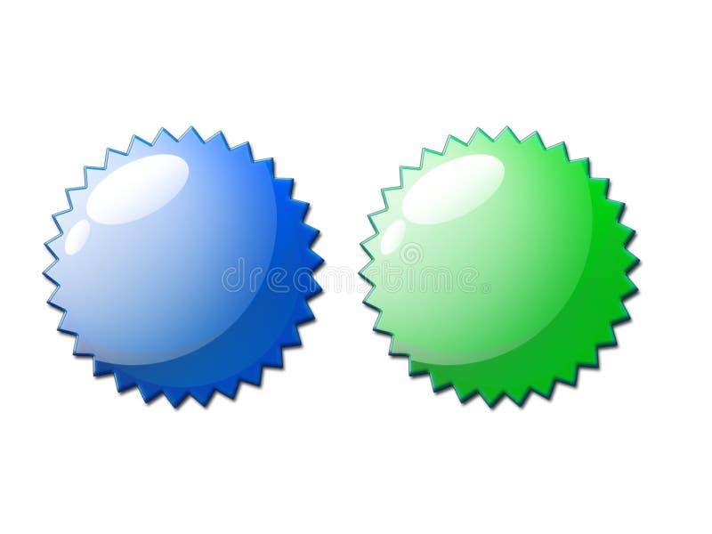 Download Web 2.0 Certificate Seal Pair Stock Illustration - Image: 2437015
