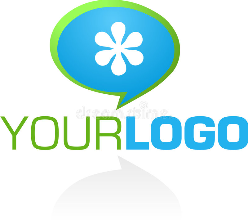 Web 2.0 do logotipo ilustração royalty free
