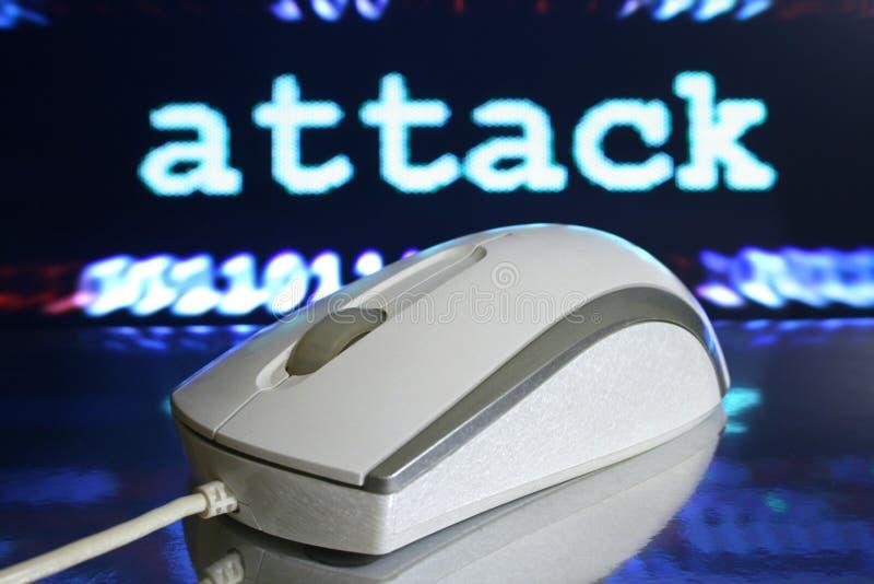 Web-Angriff lizenzfreie stockfotos