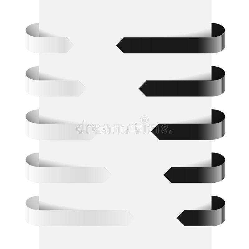 Download Web Arrows stock vector. Illustration of empty, element - 25566503