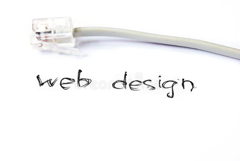 Web-Auslegung lizenzfreies stockbild