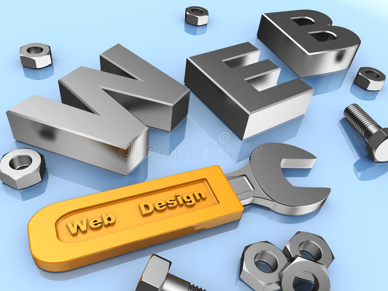 Web-Auslegung vektor abbildung