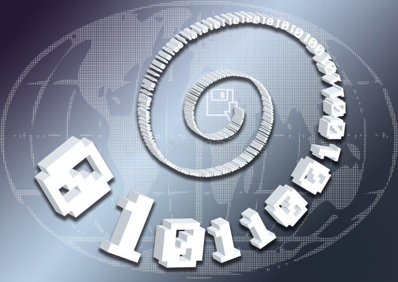 Web-Auslegung 43 lizenzfreie abbildung