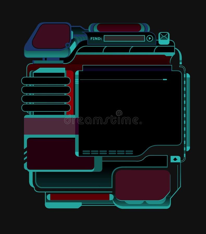 Web-Auslegung-Schablone - 01 - A lizenzfreies stockfoto