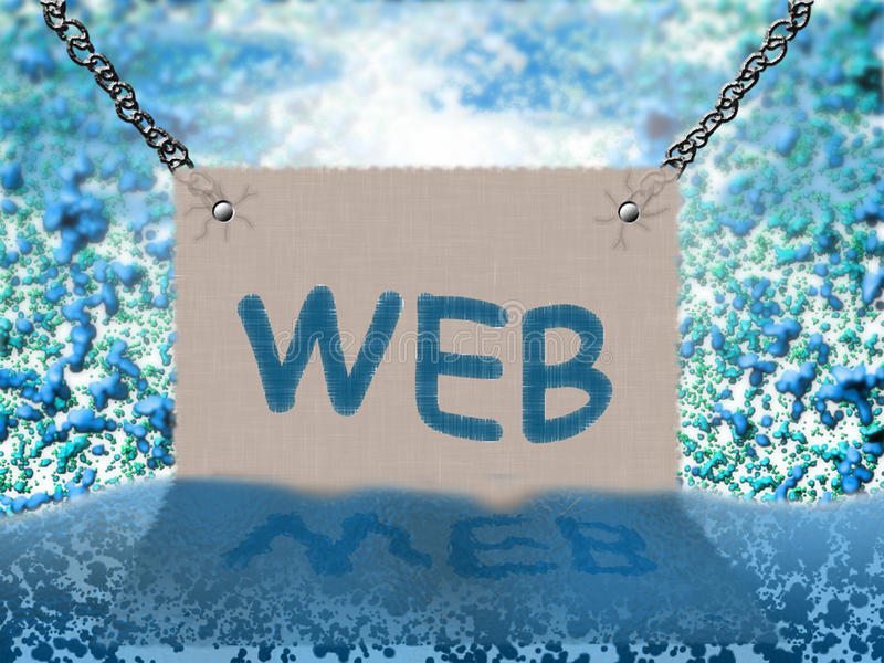 WEB (background) stock photos