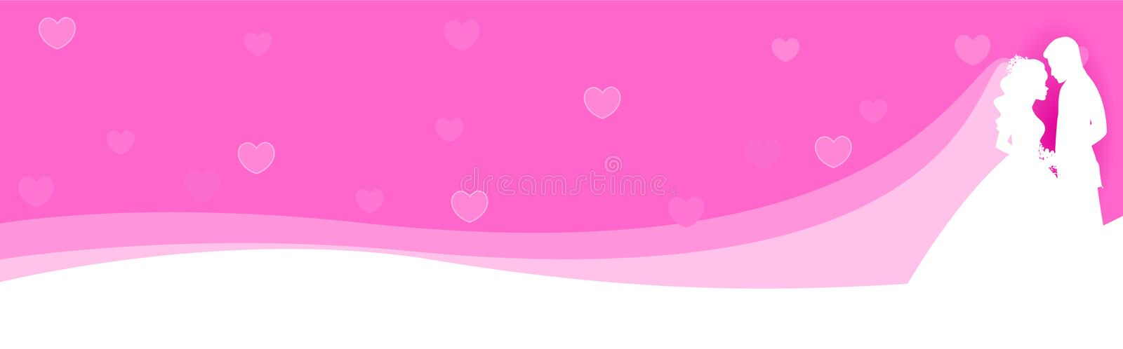 Download Web Banner Couple in love stock vector. Image of emotion - 16901257