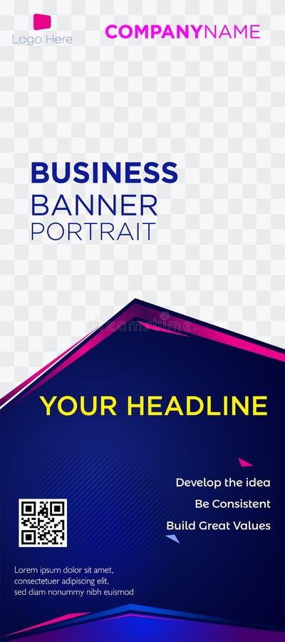 Web blue-01 violeta comercial de las etiquetas de los jefes de la página web de la empresa de negocios de la bandera libre illustration