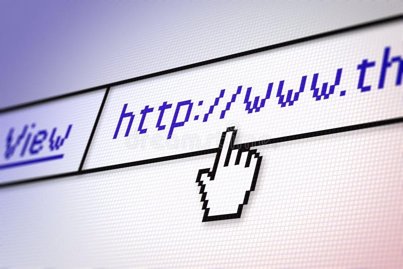 Web browser photo libre de droits