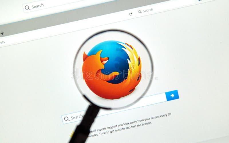 Web browser de Firefox photographie stock libre de droits