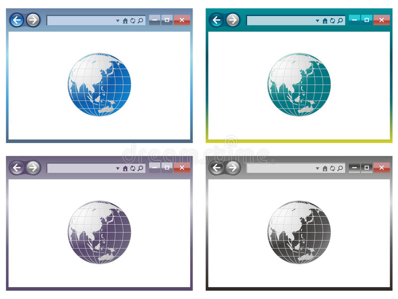 Download Web Browser In Vector Royalty Free Stock Photos - Image: 33216248