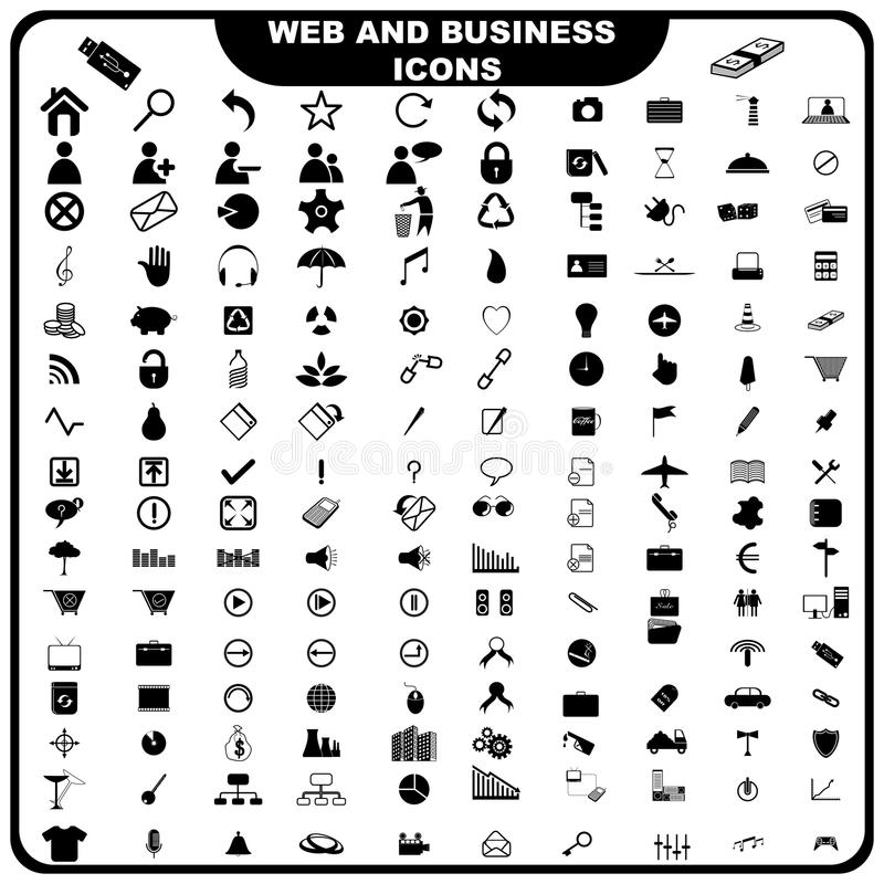 Web And Business Icon Stock Photo