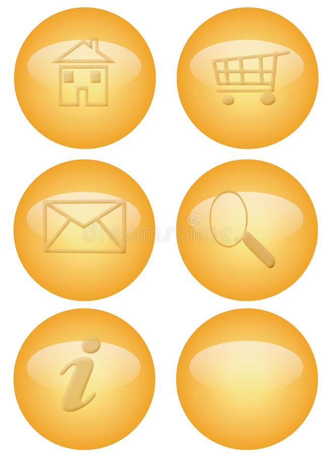 Download Web Button Royalty Free Stock Images - Image: 2472239