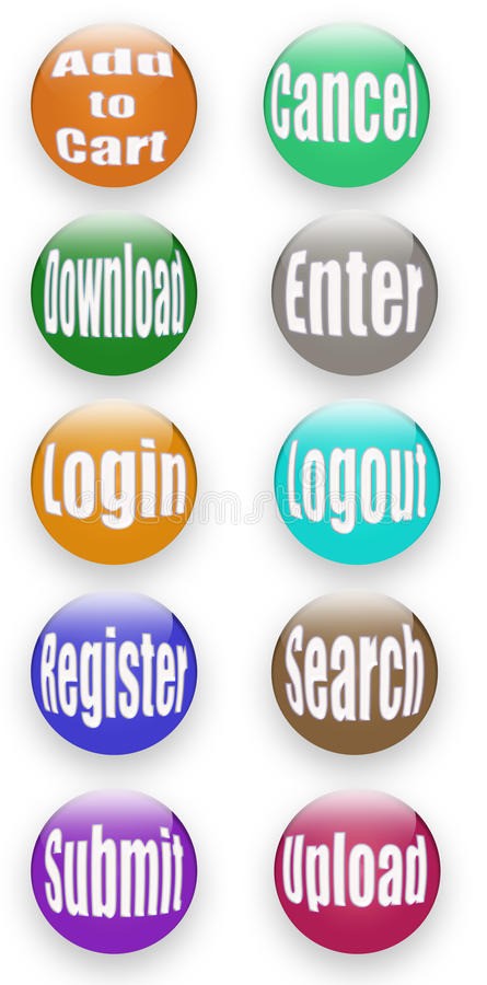 Download Web button stock illustration. Illustration of change - 25623100