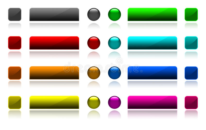 Download Web button stock illustration. Image of clip, internet - 28691610
