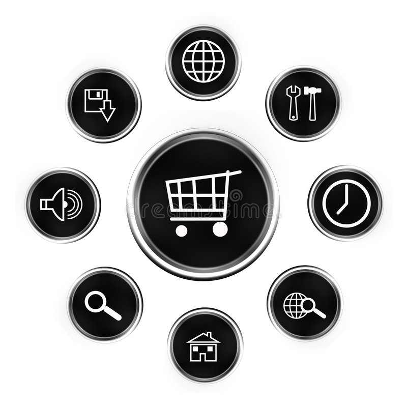 Web button-buy royalty free stock images