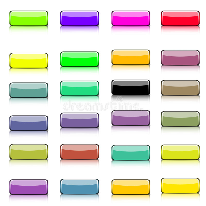 Web button collection royalty free stock image
