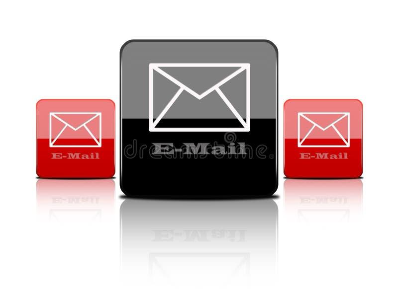 Web button-email stock photos