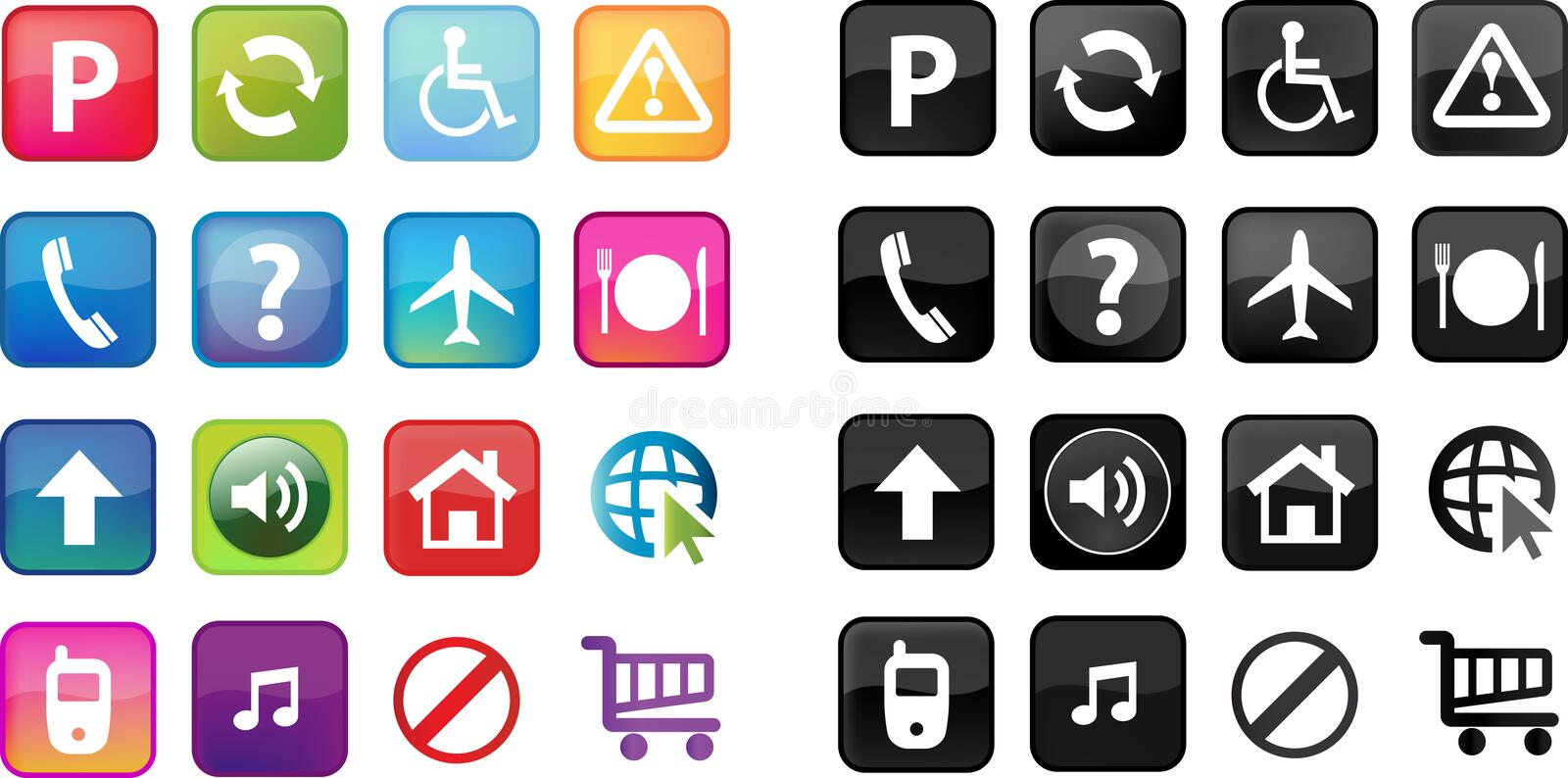 Download Web Buttons Royalty Free Stock Image - Image: 16805466